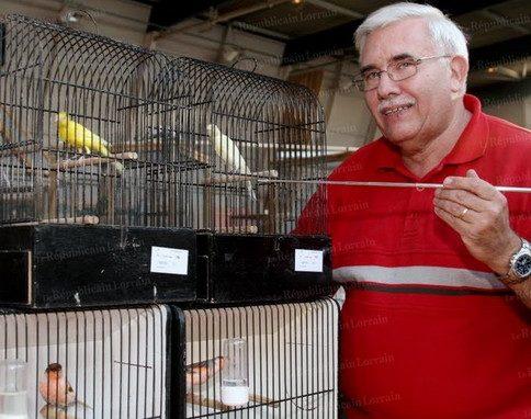 400 oiseaux défilent sous les yeux de François Gérardin